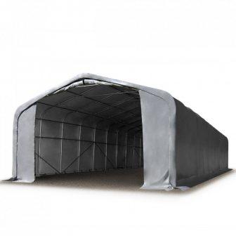 Wikinger 720g/m2 - 8x36m - 4m bočna strana - siva vatrootporna cerada