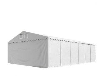 Skladišni šator 6x12m sa bočnom visinom 2,6m, professional 550g/m2 vatrootpornom ceradom