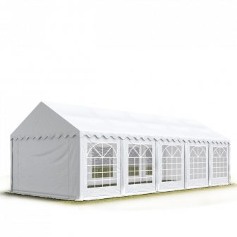 Party šator 4x10m-PROFESSIONAL DELUXE 500g/m2-pojačana konstrukcija krova