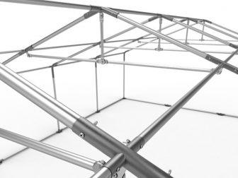Party šator 6x14m-PROFESSIONAL DELUXE 500g/m2-pojačana konstrukcija krova