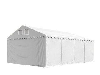 Skladišni šator 6x8m sa bočnom visinom 2,6m, professional 550g/m2 vatrootpornom ceradom