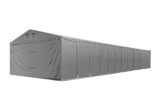 Skladišni šator 4x24m sa bočnom visinom 2,6m SA NEZAPALJIVOM CERADOM! - professional 550g/m2