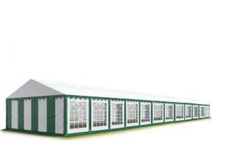 Party šator 6x24m, bočna visina:2,6m-PROFESSIONAL DELUXE 550g/m2-posebno jaka čelična konstukcija