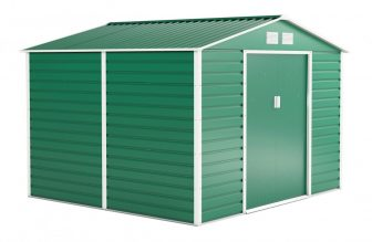 EPT stabilna metalna vrtna kućica 706 - 277 X 255cm (zelena)