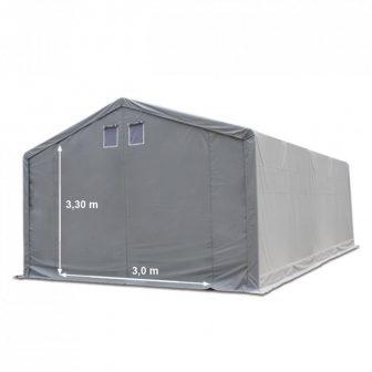 Skladišni šator 5x8m sa bočnom visinom 3m professional 550g/m2