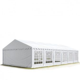 Party šator 8x12m, bočna visina:2,6m-PROFESSIONAL DELUXE 550g/m2-posebno jaka čelična konstukcija