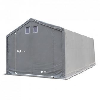 Skladišni šator 3x6m sa bočnom visinom 3m professional 550g/m2