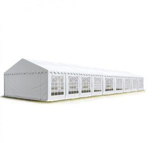 Party šator 6x18m, bočna visina:2,6m-PROFESSIONAL DELUXE 550g/m2-posebno jaka čelična konstukcija