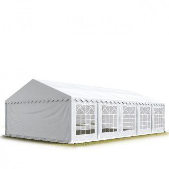 Party šator 6x10m, bočna visina:2,6m-PROFESSIONAL DELUXE 550g/m2-posebno jaka čelična konstukcija