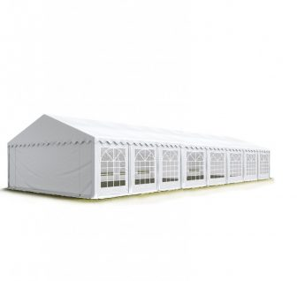 Party šator 8x16m, bočna visina:2,6m-PROFESSIONAL DELUXE 550g/m2-posebno jaka čelična konstukcija