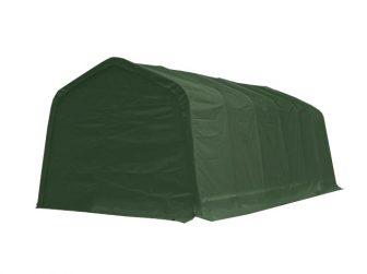 Garažni šatori 550g/m2 - 3,3x7,2m u zelenoj boji