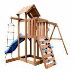 XXL DISCONTMANIA drveno vrtno igralište za djecu