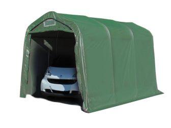 Garažni šator 550g/m2 - 2,4x3,6m u zelenoj boji