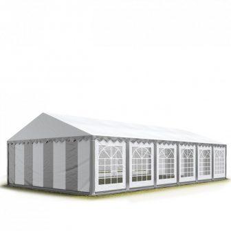 Party šator 8x36m, bočna visina:2,6m-PROFESSIONAL DELUXE 550g/m2-posebno jaka čelična konstukcija