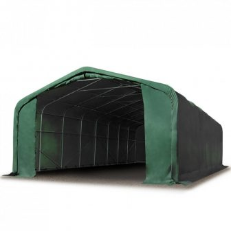 Wikinger 720g/m2 - 6x6m - 2,7m bočna strana - zelena vatrootporna cerada