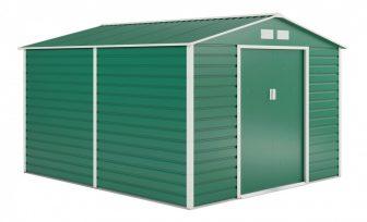 EPT stabilna metalna vrtna kućica 884 - 277 X 319cm (zelena)