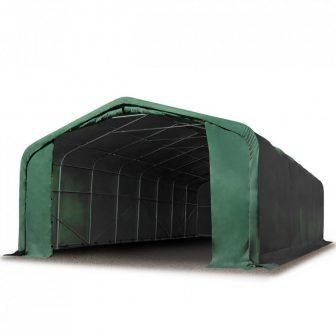 Wikinger 720g/m2 - 6x36 m - 2,7m bočna strana - zelena vatrootporna cerada
