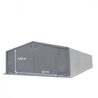 Skladišni šator 8x8m sa bočnom visinom 3m professional 550g/m2
