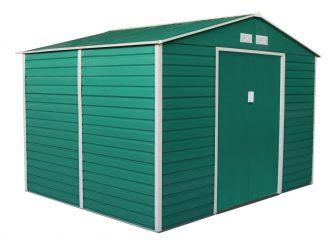 EPT Stabilna metalna vrtna kućica 529 - 277 x 191 cm (zelena)