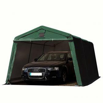 Garažni šator 500g/m2 - 3,3x6,2m u zelenoj boji