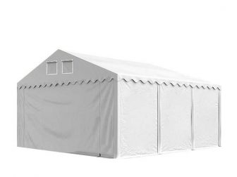 Skladišni šator 5x6m sa bočnom visinom 2,6m SA NEZAPALJIVOM CERADOM! - professional 550g/m2