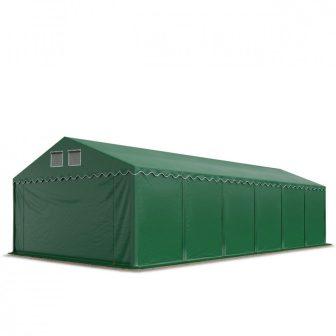 Skladišni šator 6x12m sa bočnom visinom 2,6m professional 550g/m2