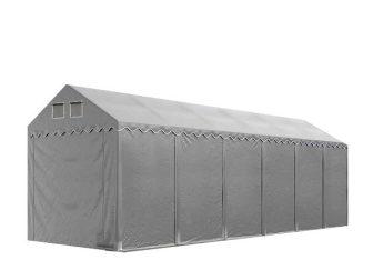 Skladišni šator 4x12m sa bočnom visinom 2,6m professional 550g/m2