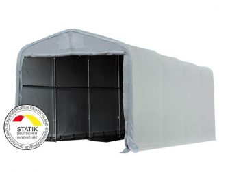 Wikinger 720g/m2 - 5x10m - 4m bočna strana - siva vatrootporna cerada