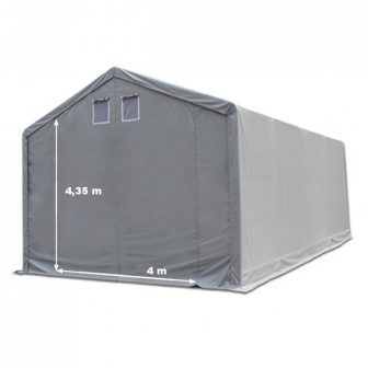 Skladišni šator 6x12m sa bočnom visinom 4m professional 720g/m2 - VATROOTPORNA CERADA!