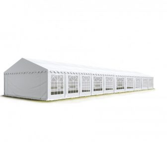 Party šator 5x20m, bočna visina:2,6m-PROFESSIONAL DELUXE 550g/m2-posebno jaka čelična konstukcija