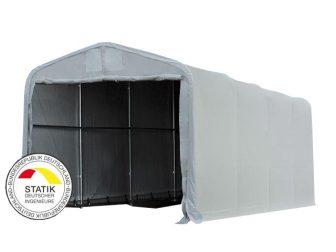Wikinger 550g/m2 - 5x10 m - 2,7m bočna strana - siva boja