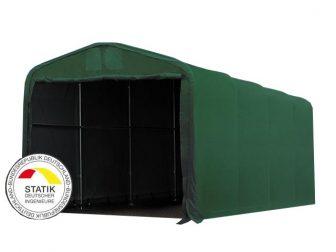 Wikinger 720g/m2 - 4x8m - 3,35m bočna strana - zelena vatrootporna cerada