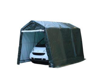 Garažni šatori 260g/m2 - 2,4x3,6m - zelena boja