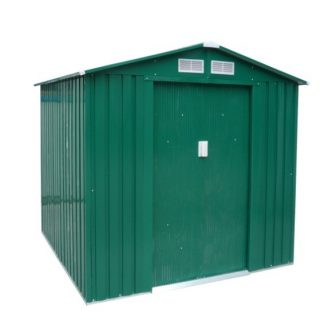 EPT Stabilna metalna vrtna kućica 327 - 191x171 cm (zelena)