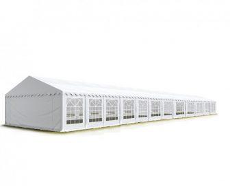 Party šator 4x24m, bočna visina:2,6m-PROFESSIONAL DELUXE 550g/m2-posebno jaka čelična konstukcija