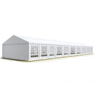 Party šator 8x20m, bočna visina:2,6m-PROFESSIONAL DELUXE 550g/m2-posebno jaka čelična konstukcija