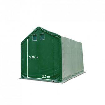 Skladišni šator 3x6m sa bočnom visinom 3m professional 720g/m2 - VATROOTPORNA CERADA!