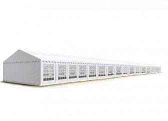 Party šator 8x32m, bočna visina:2,6m-PROFESSIONAL DELUXE 550g/m2-posebno jaka čelična konstukcija