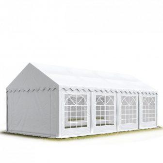 Party šator 4x8m, bočna visina:2,6m-PROFESSIONAL DELUXE 550g/m2-posebno jaka čelična konstukcija