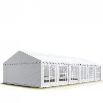 Party šator 6x12m, bočna visina:2,6m-PROFESSIONAL DELUXE 550g/m2-posebno jaka čelična konstukcija